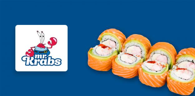 Розробка інтернет-магазину доставки суші Mr.Krabs