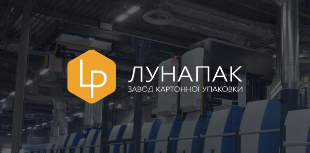 Корпоративный сайт для компании LunaPack