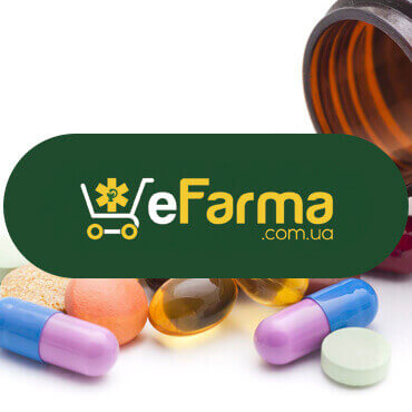 разработка интернет-аптеки E-farma