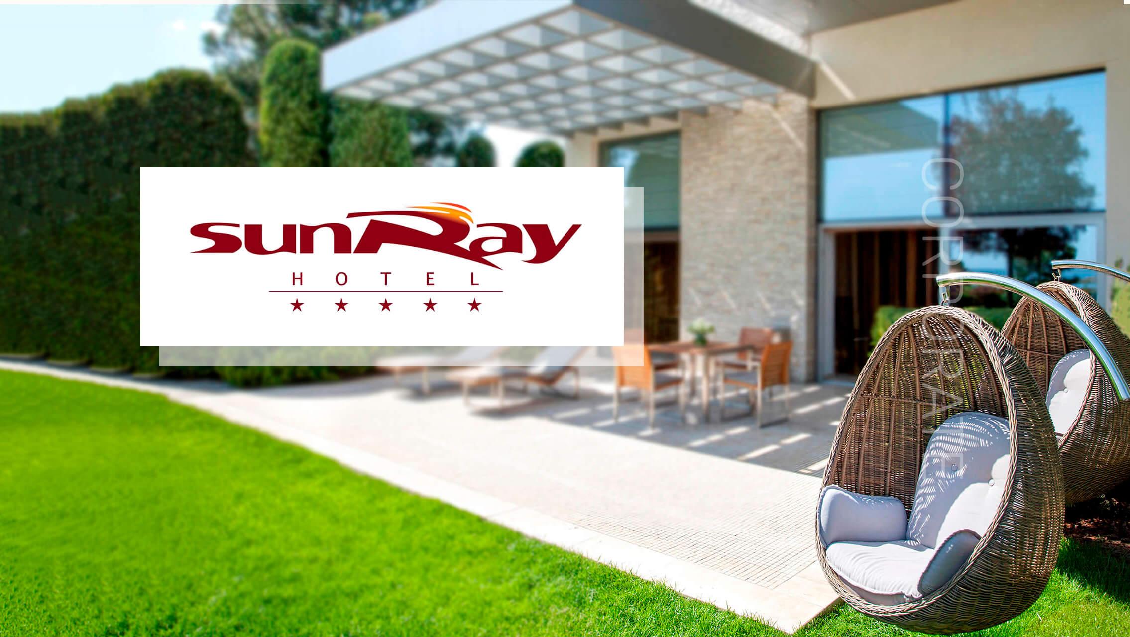 Розробка корпоративного сайту готелю SUNRAY