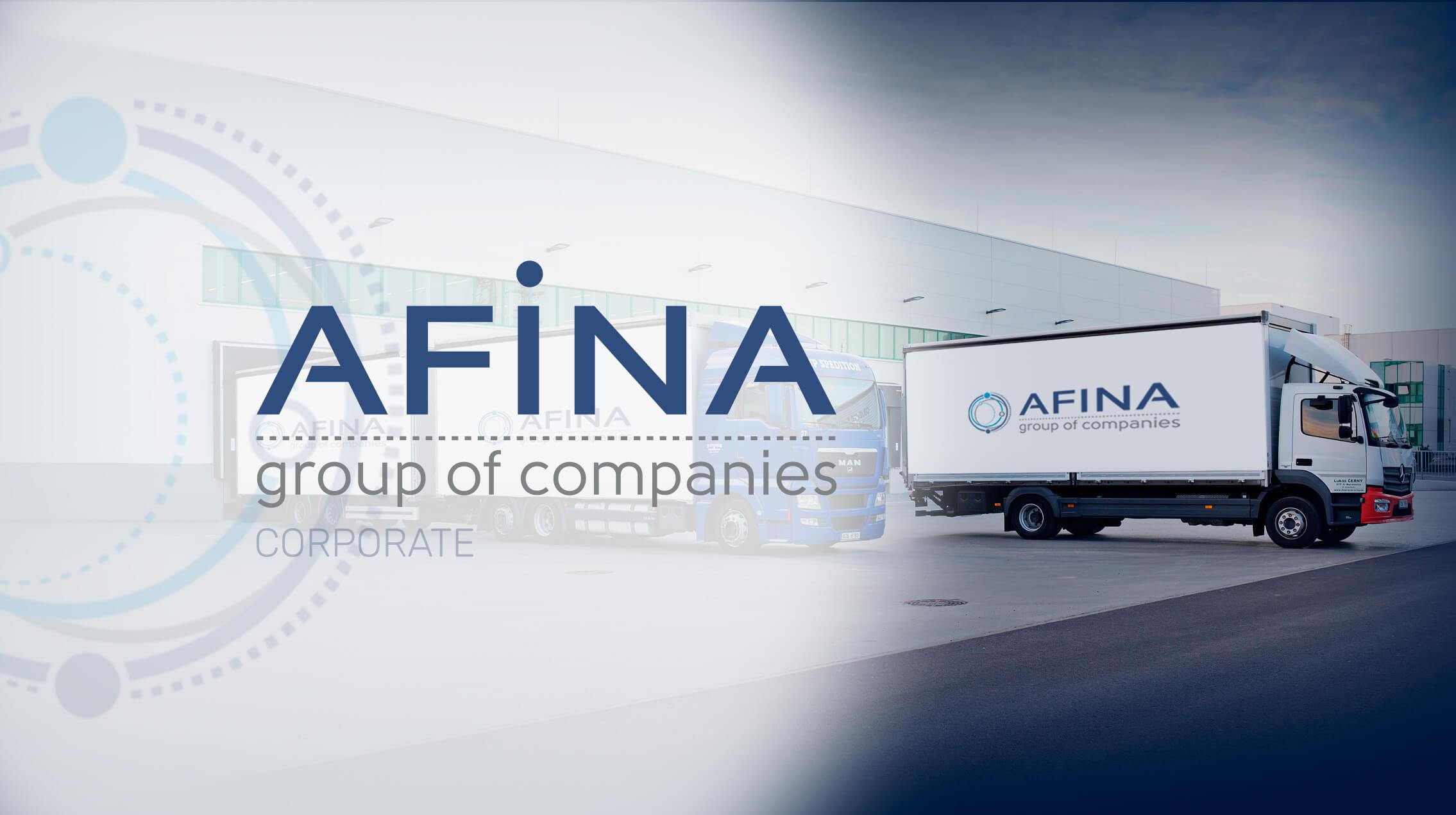 Розробка сайту AFINA