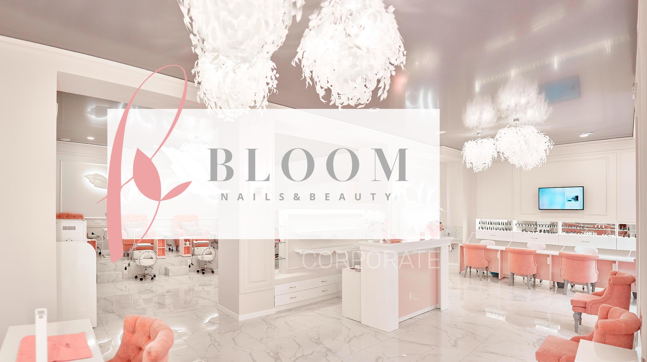 Розробка сайту нігтьової студії BLOOM