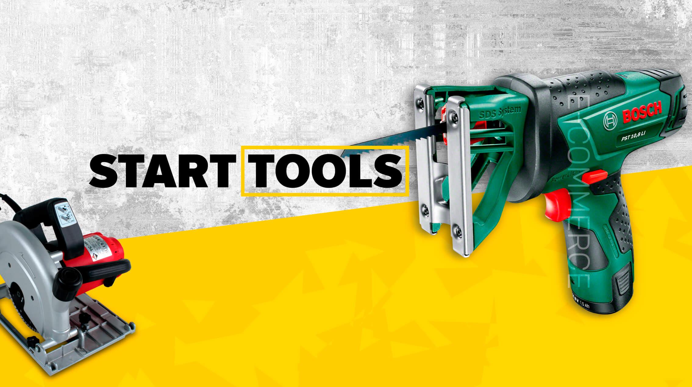 Розробка інтернет-магазину техніки Start-Tools