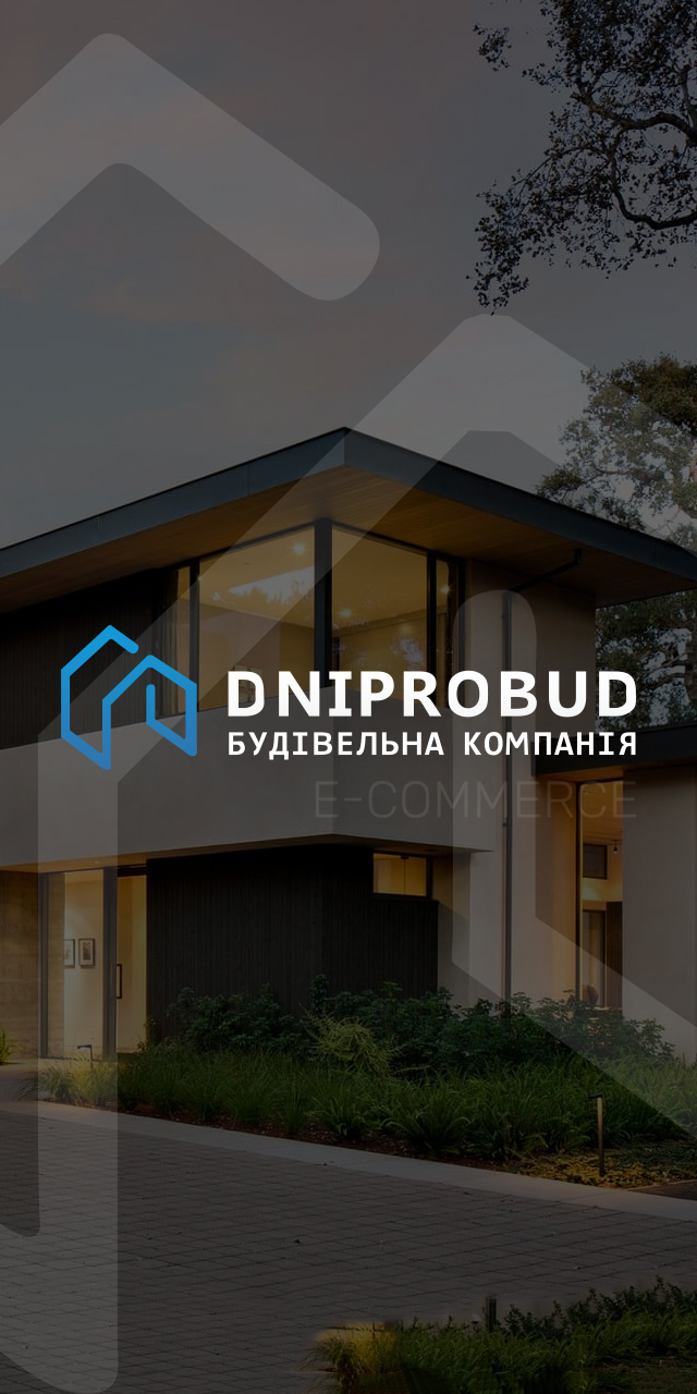 Розробка сайту будівельної компанії Dniprobud